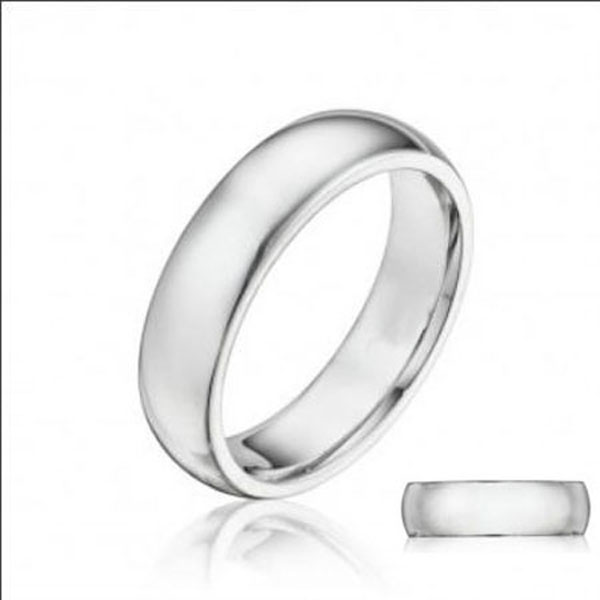 Dome Wedding Band Stock # 12-036E7