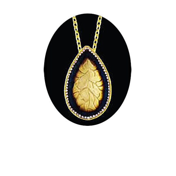Pear Shape Pendant. Stock # 31-11116-2CYD