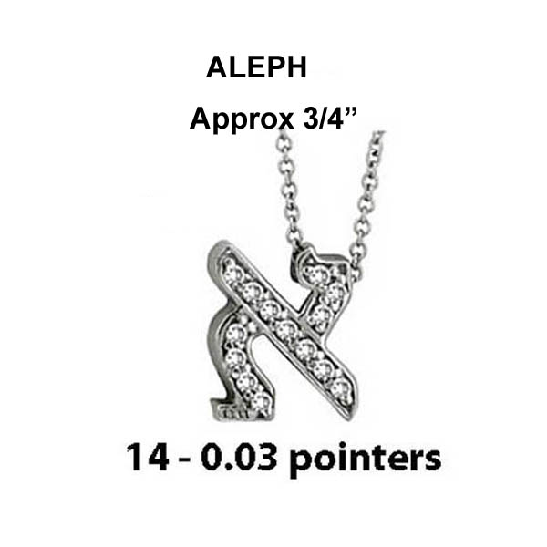 Hebrew Aleph Large Stock # Aleph Large