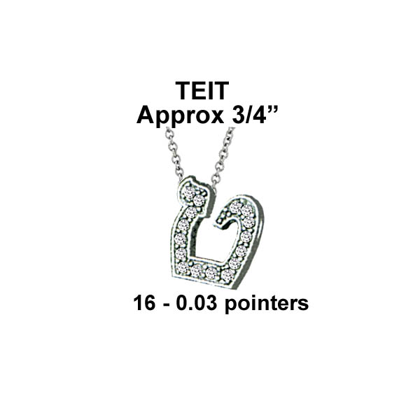 Hebrew Teit Large Stock # Teit Large
