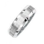Bevel Wedding Band Stock # 12-0F7