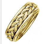 Braided Wedding Band Stock # 12-70BIQ