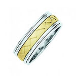 TT 8mm Wedding Band Stock # 12-70IA