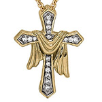 Diamond Cross Pendant Stock # 15-CXFHH