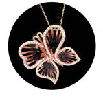 Butterfly Pendant. Stock # 31-11116-2DQB