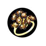 Buttercup Cluster Ring. Stock # 31-11118-2BQC