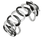 AG: LINK CUFF BANGLE Stock #81-172CGX