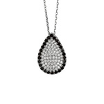 AG: TEAR DROP PAVE PENDANT Stock #81-17316AFH