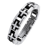 Mens Stainless Steel Bracelet Stock # 81-1919FFH