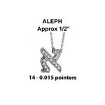Hebrew Aleph Small Stock # Aleph Small