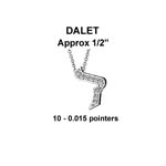 Hebrew Dalet Small Stock # Dalet Small